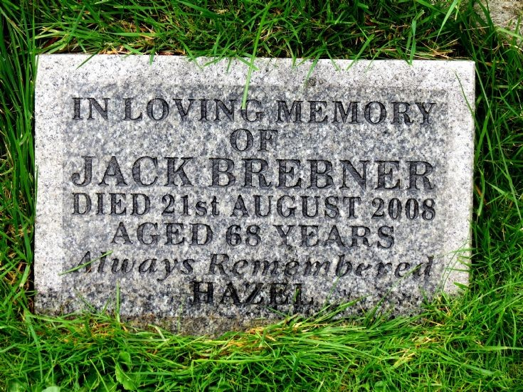 104 Grave No 141 Jack Brebner