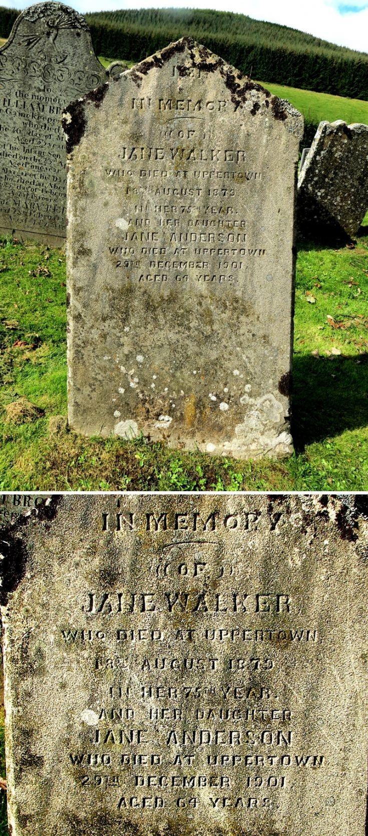111 Grave No 148 Jane Walker
