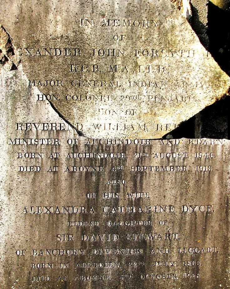 115 Grave No 152 Alexander Forsyth