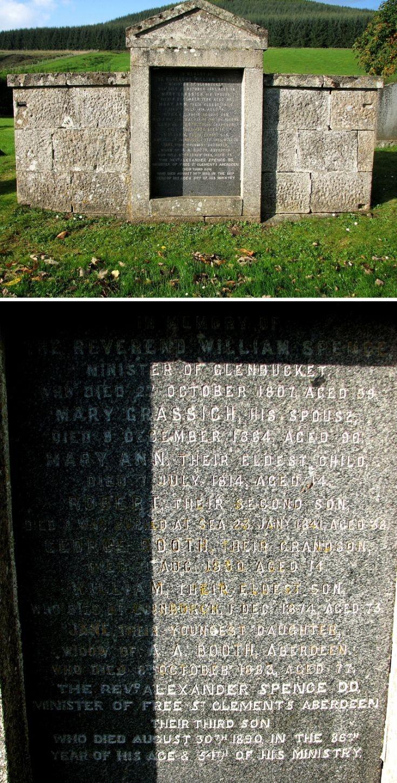 117 Grave No 154 REv William Spence