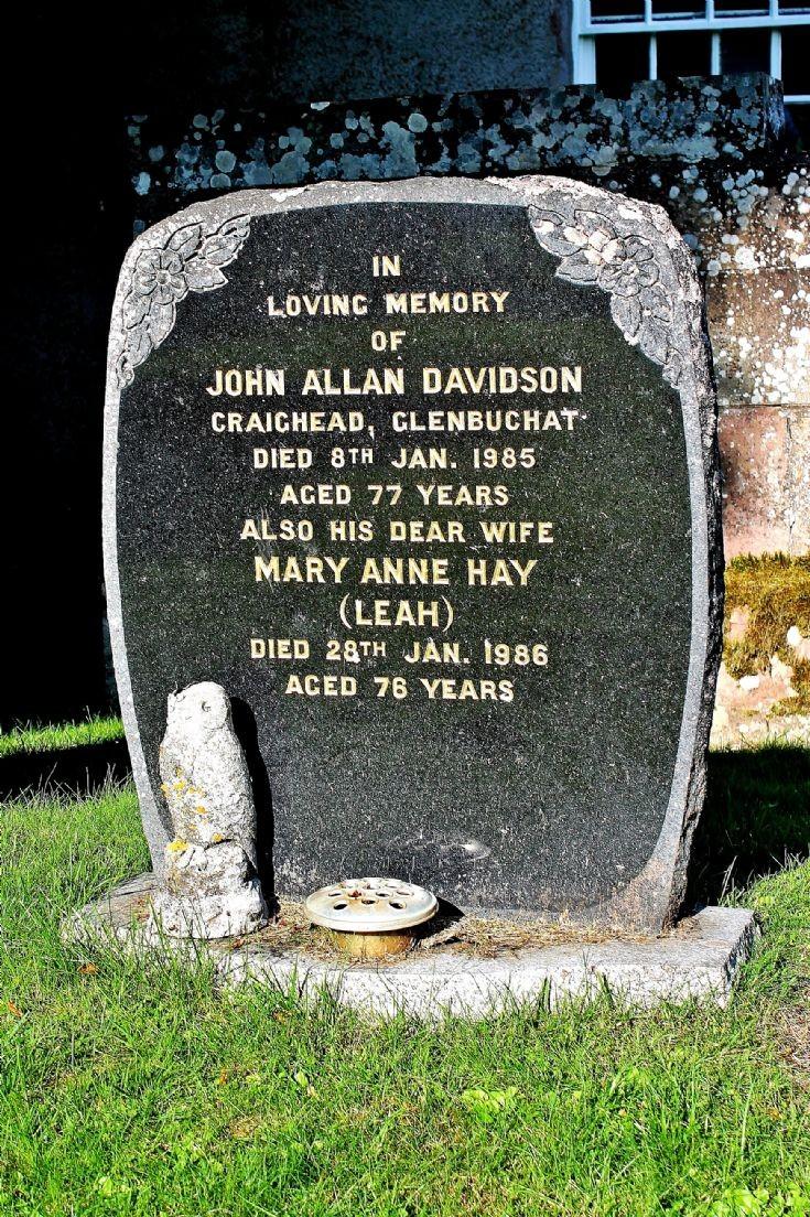 125 Grave No 162  John (Jock) Davidson