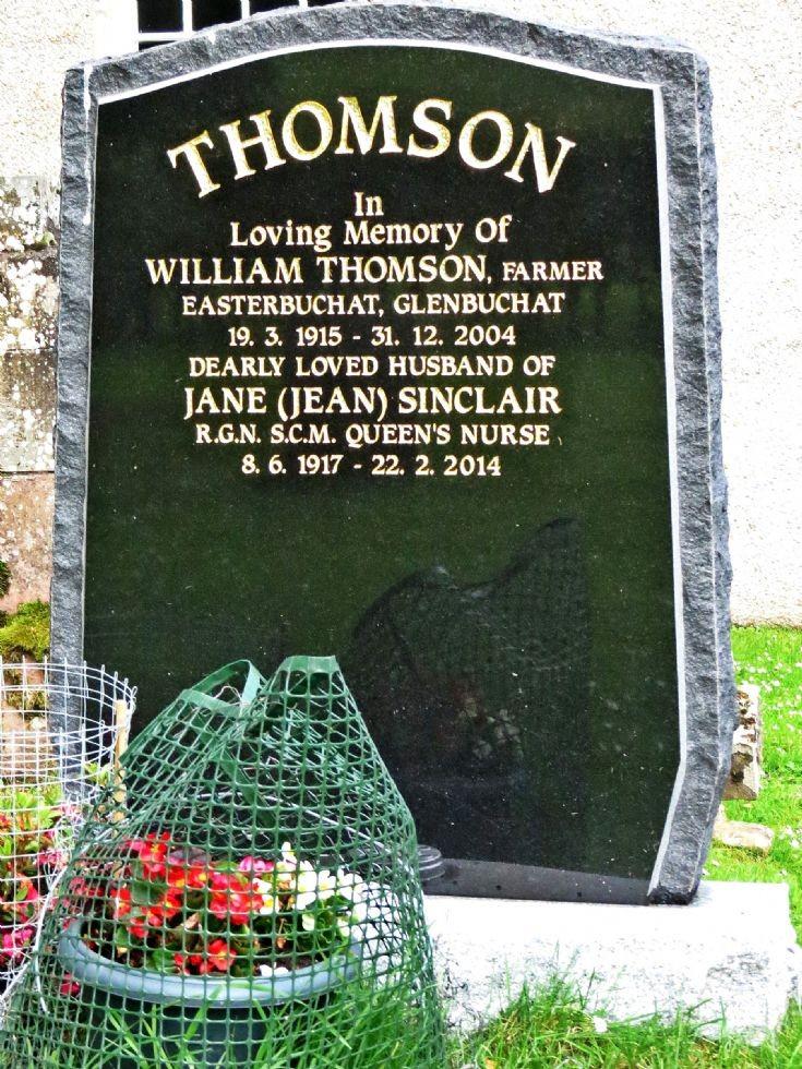 126 Grave No 163 William Thomson