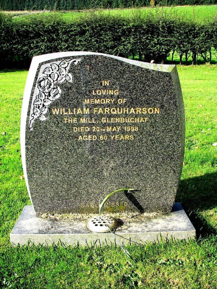 140 Grave No 177 Wiliam Farquharson