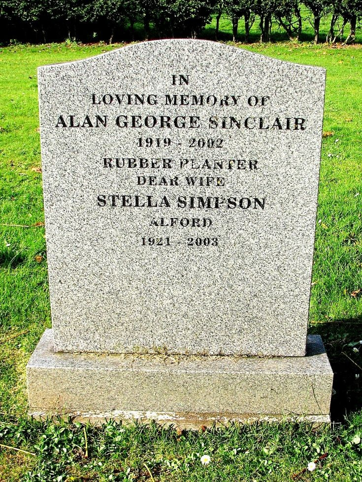 142 Grave No 180 Alan Sinclair