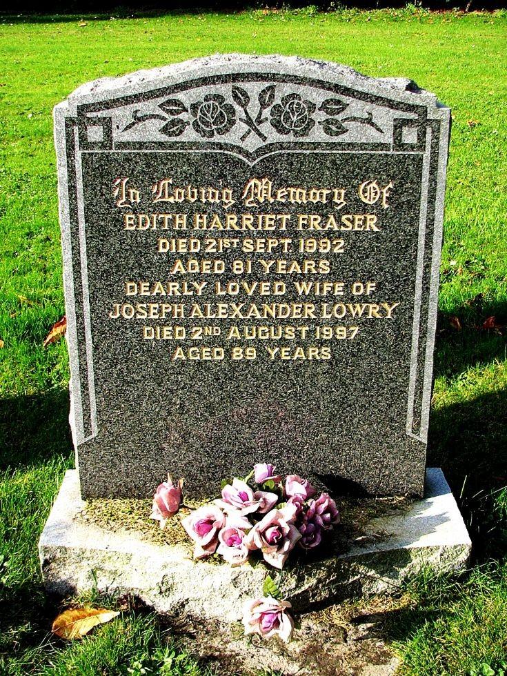 144 Grave No 184 Edith Fraser