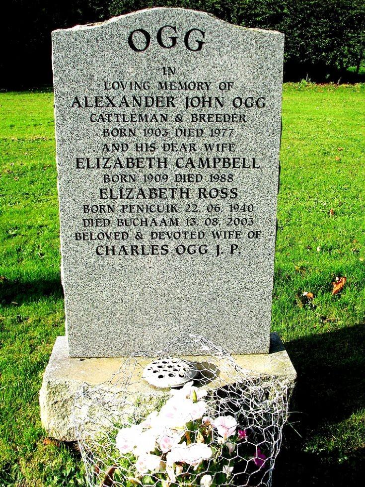 145 Grave No 185 Alexander Ogg
