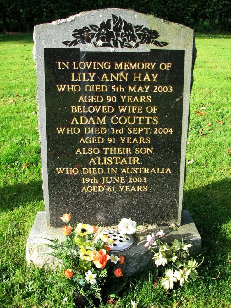 149 Grave No 191 Lilly Ann Hay