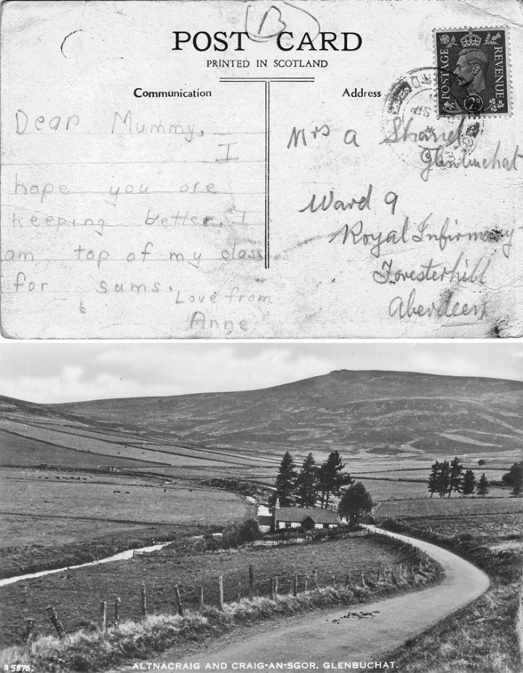 13 Altnacraig Postcard