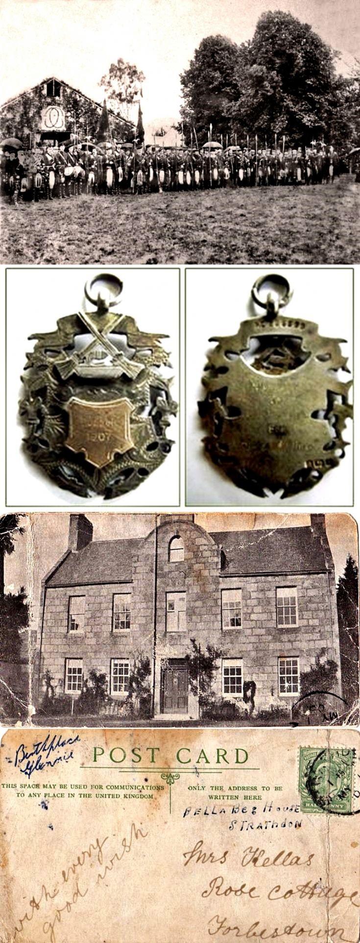 188 Lonacg Gatherineg and Bellabeg House 1902-1907