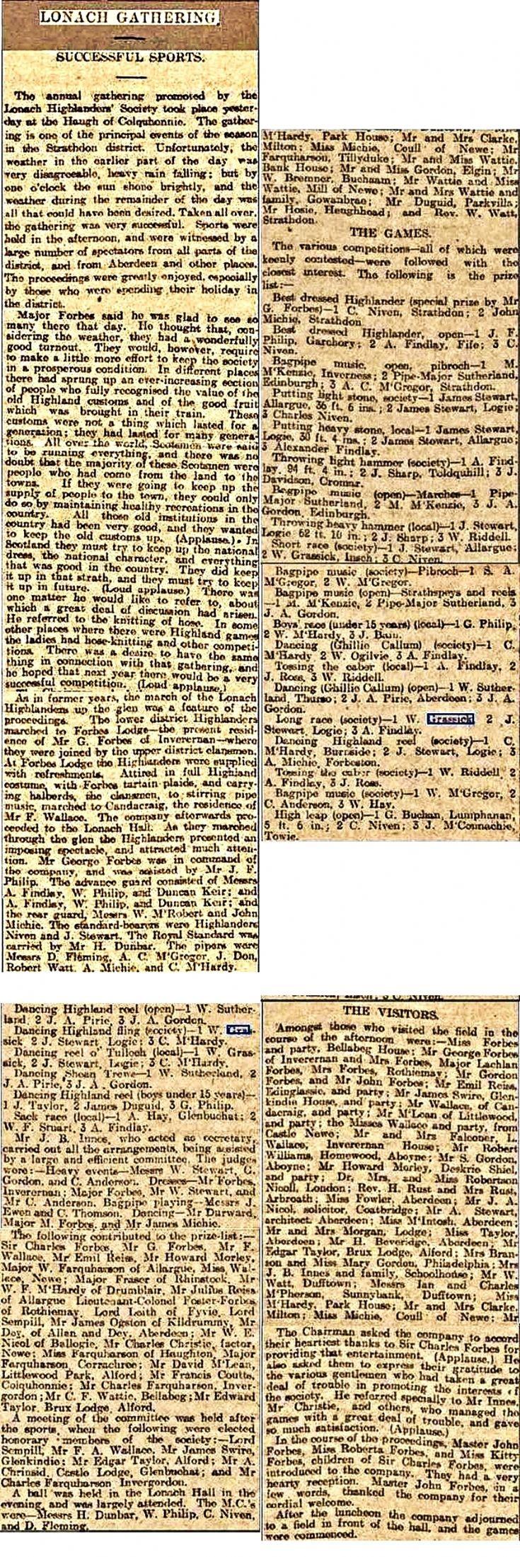 192 1907 Lonach Gathering