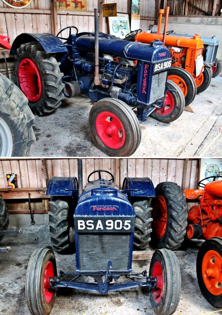 6 Fordson Tractor from Glenbuchat