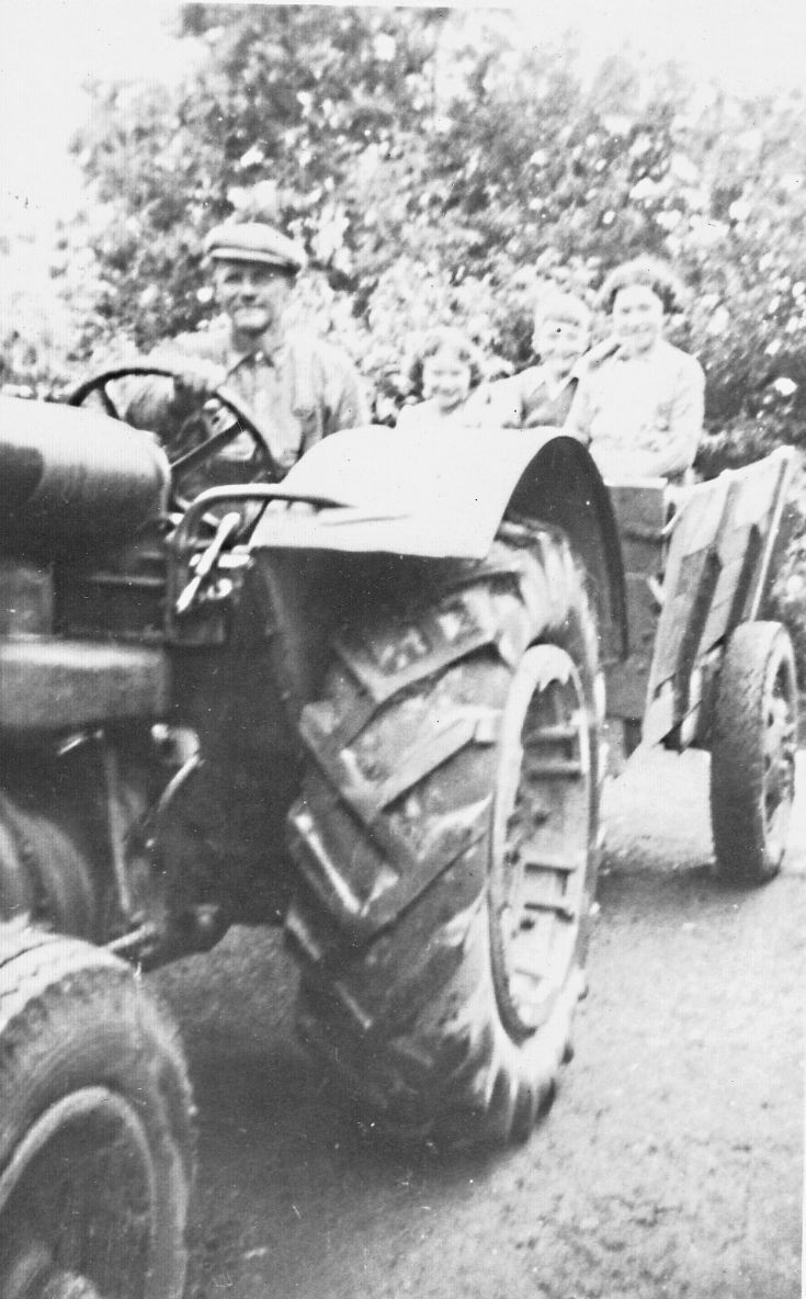 7 George Hay with Frdson Tractor