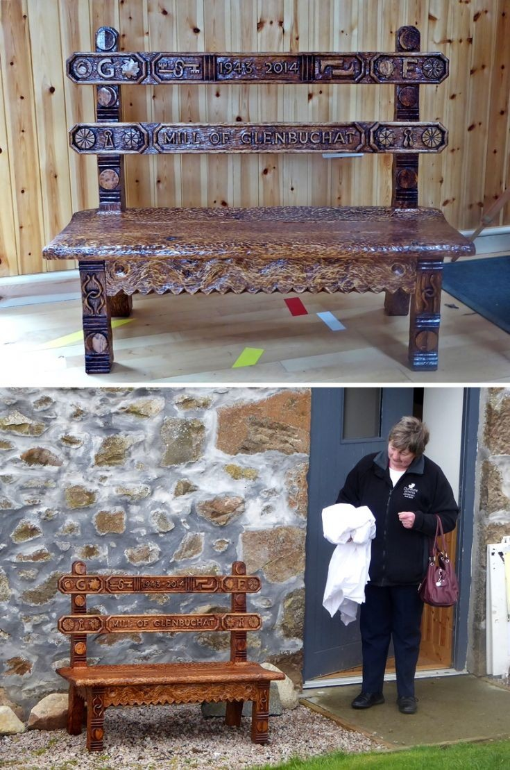 20 George Farquharson Commemorative Bench
