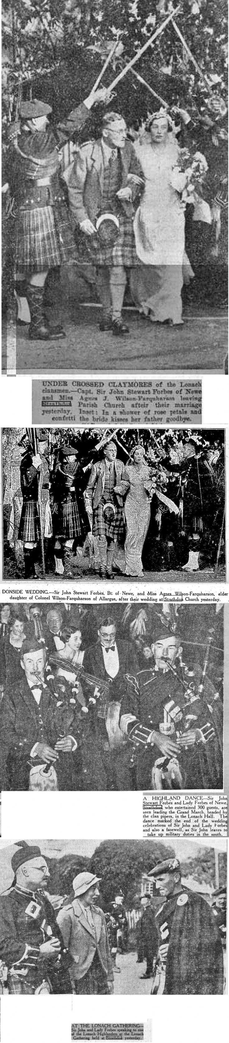 24 Wedding of Sir John Forbes 1933