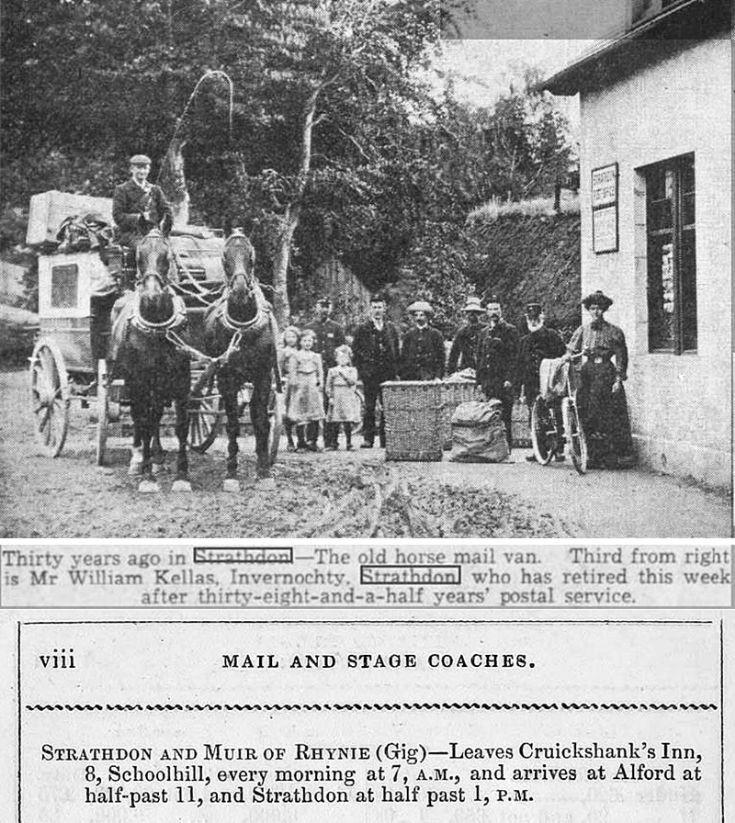 26 Strathdon Mail Coach 1907