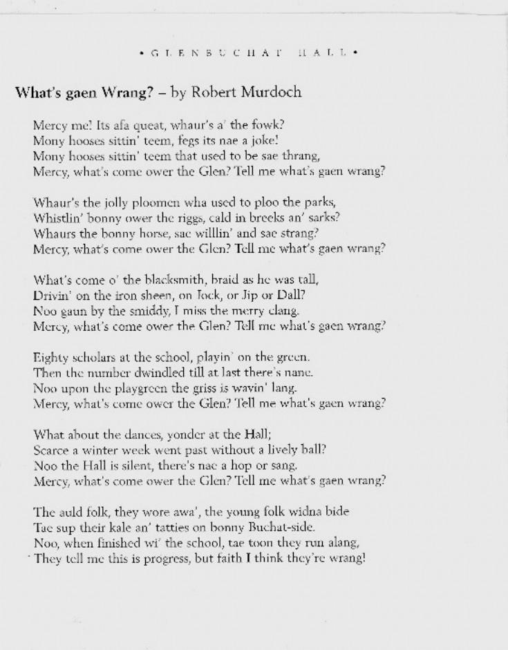 3 Whats gaen Wrang