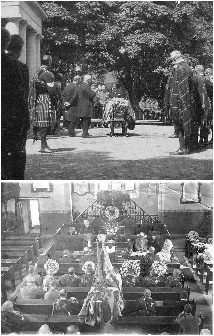 3 Funeral of Sir John Forbes 1905