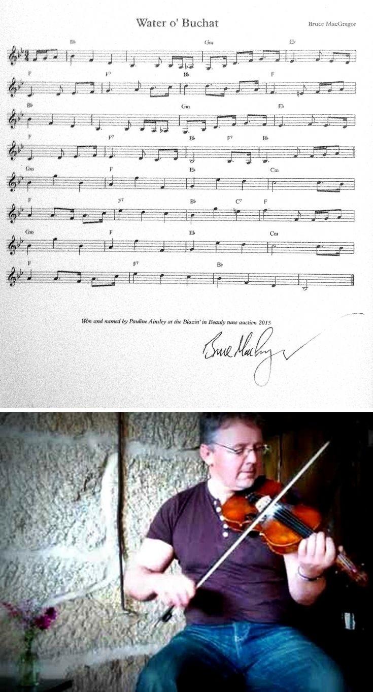 91 'Water O' Glenbuchat' Fiddle tune