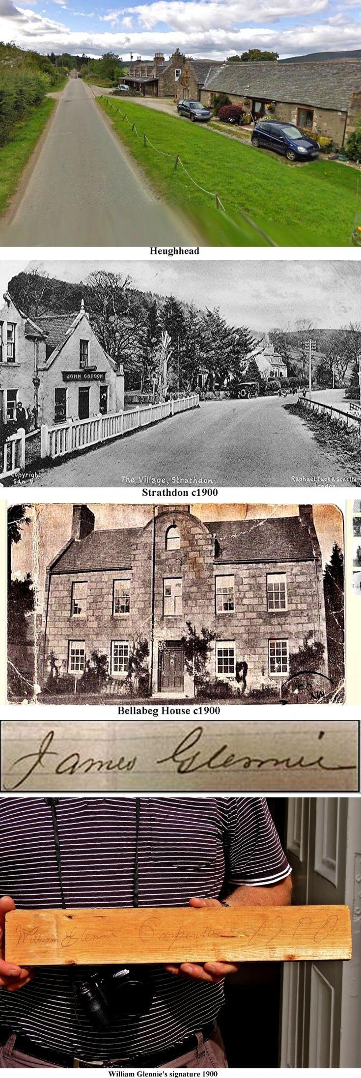 4 Glennies in Strathdon