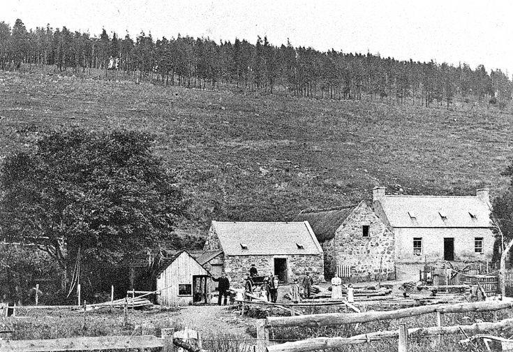 2 Glenbuchat Mill c1900