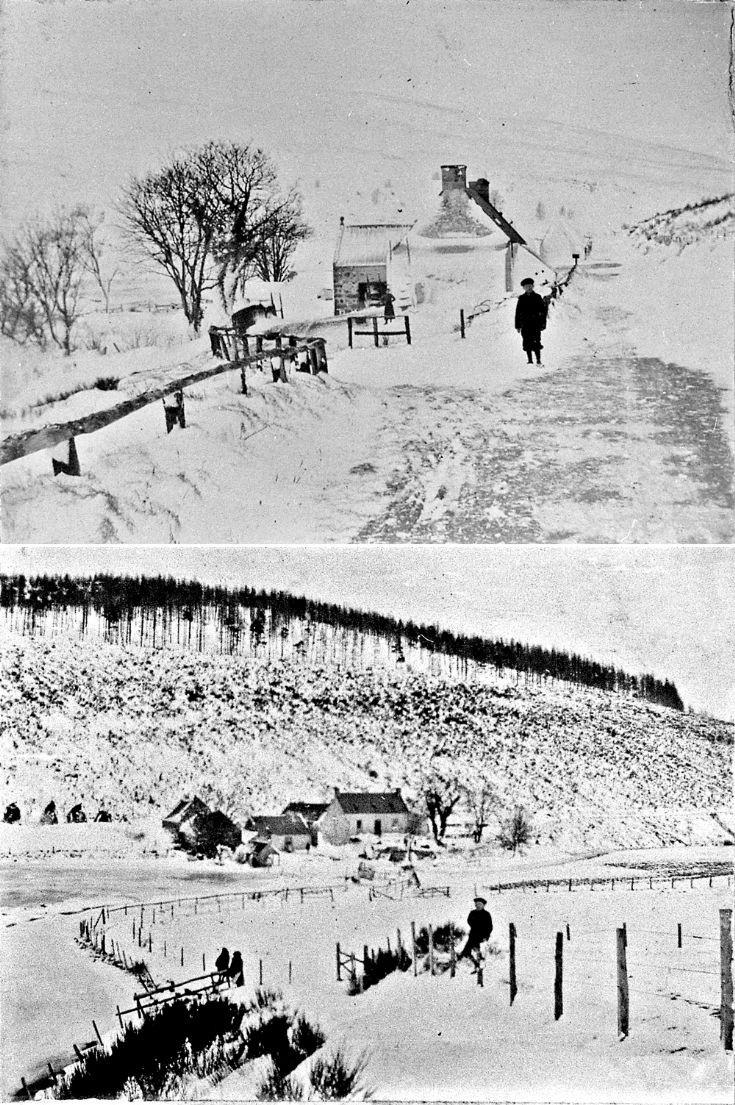 9 Glenbuchat Mill in snow