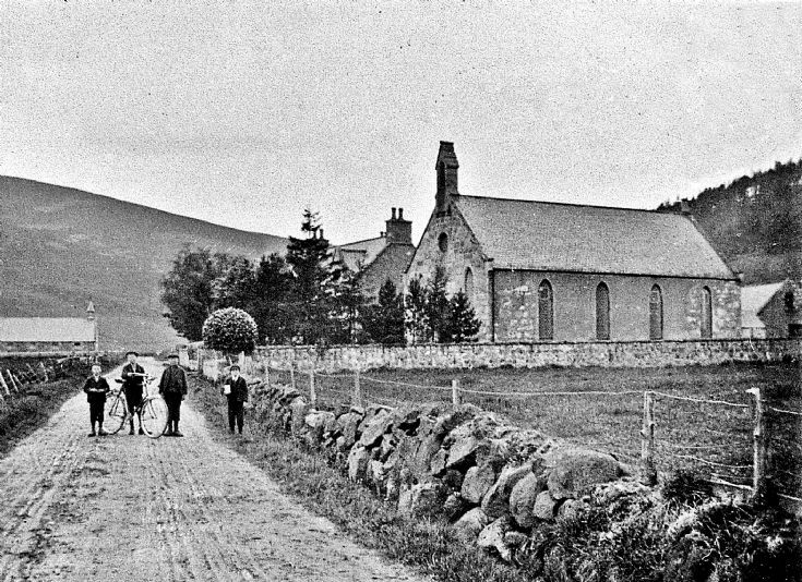 74 Free Church at Craigton Glenbuchat c. 1907