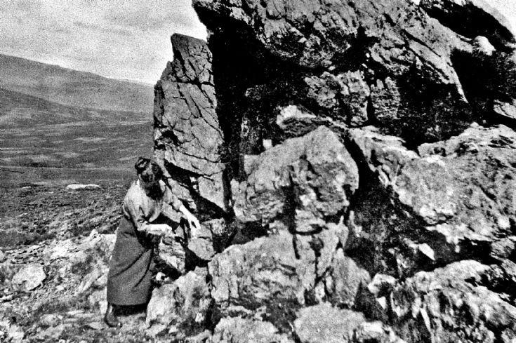 90 Mrs Michie, Sluggie, at Garnet Stone Glenbuchat