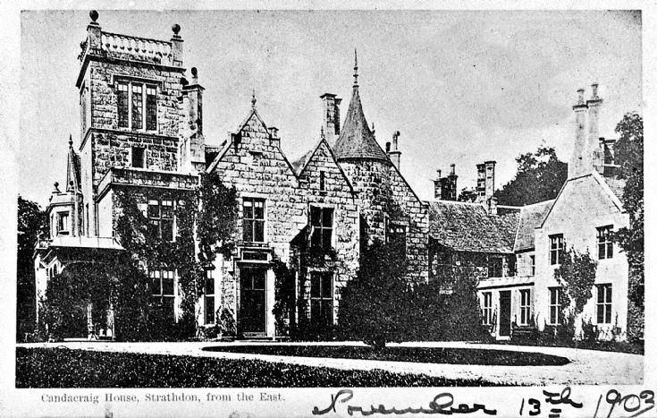 122 Candacraig House 1903