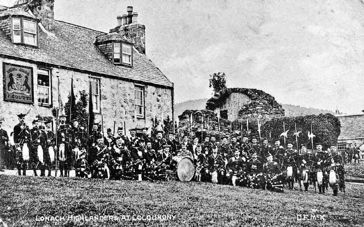 129 Lonach Highlanders at Colquhonnie