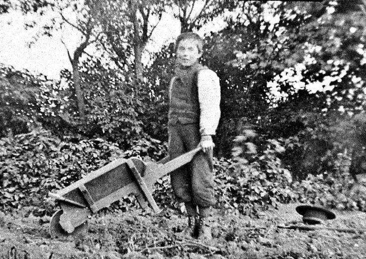 134 Boy at Mill Glenbuchat