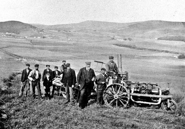 145 Arrival of Ivel tractor Glenbuchat
