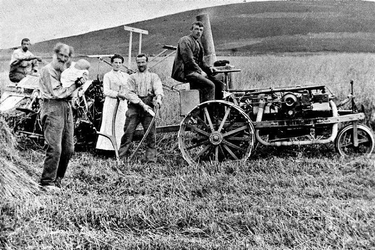 146 Ivel Tractor at Glenbuchat