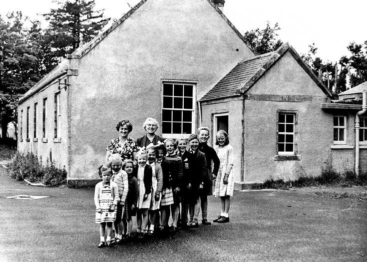 68 Glenbuchat School Closure 1960