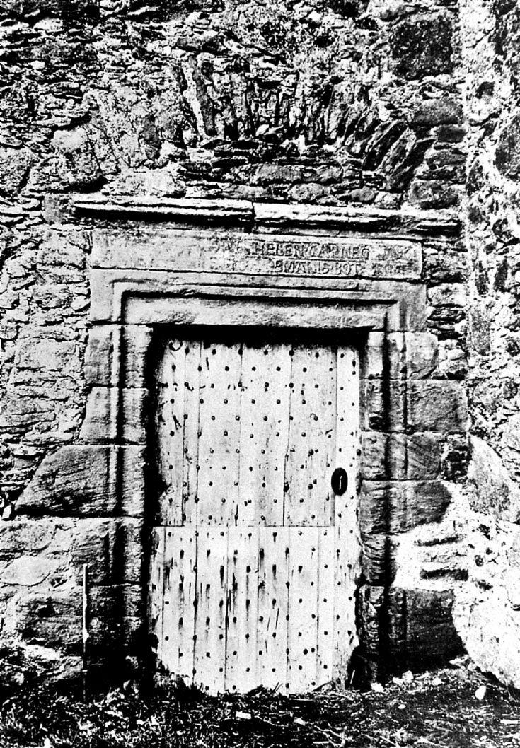 85 Glenbuchat Castle Door