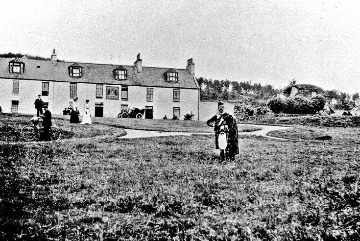 101 Lonach Highlander at Colquhonnie, Strathdon