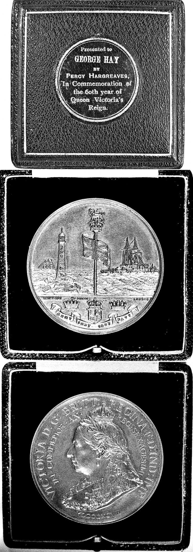 102 Medal to George Hay Craighead Glenbuchat 1897
