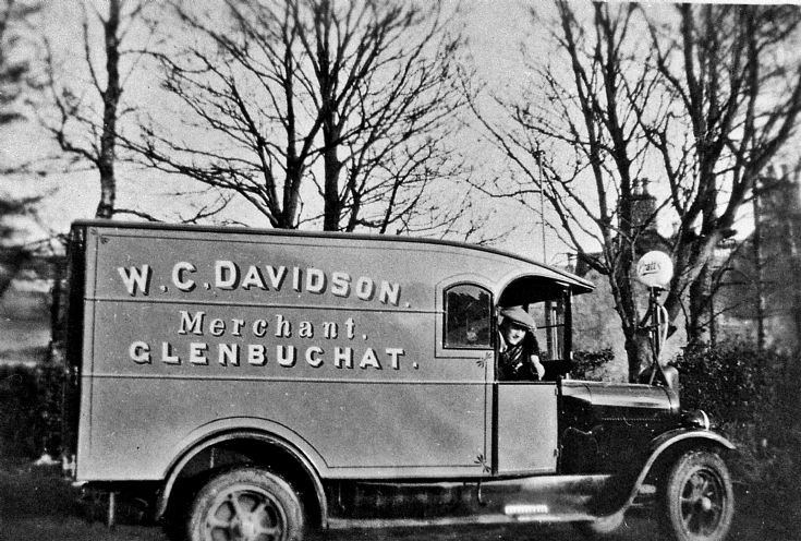 106 Van from Davidson's Shop, Craigton Glenbuchat