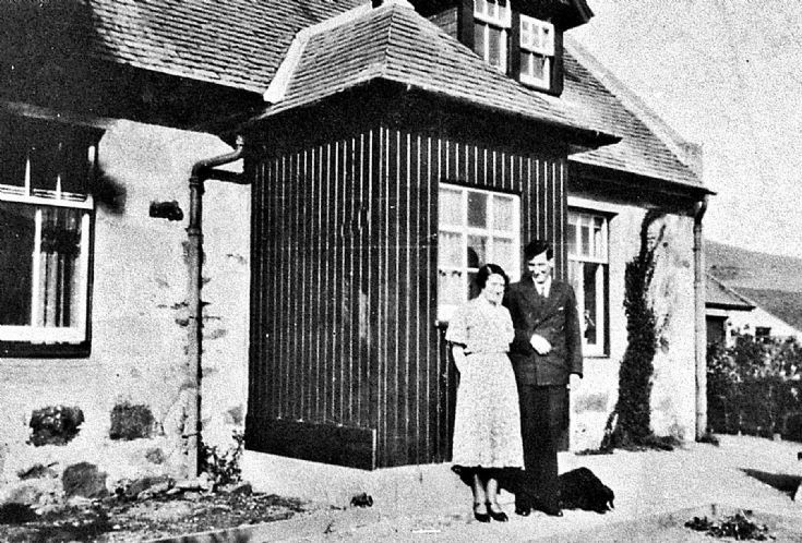 123 Couple at Maryfield Cottage Glenbuchat