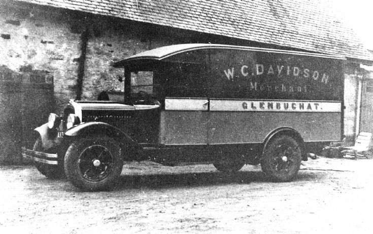 143 Mobile Shop Van Craigton Glenbuchat