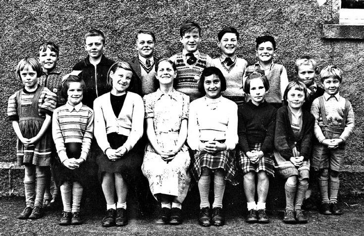 150 Glenbuchat School 1950's