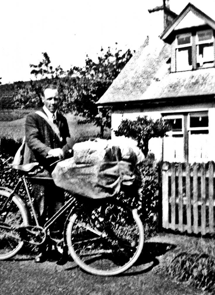 194 Mr Tait Postman at Craigton Glenbuchat