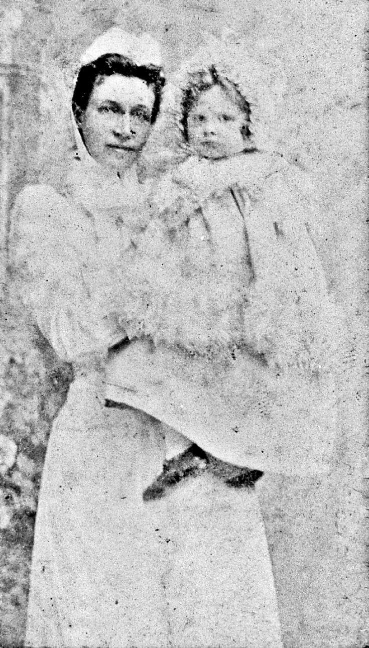 220 Mrs George Hay, Nanny at Auchernach House