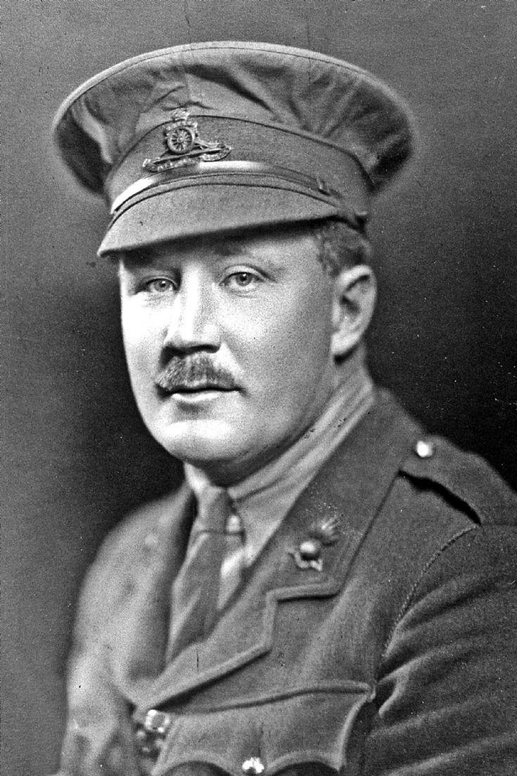 234 James Barclay Milne in uniform, WW1