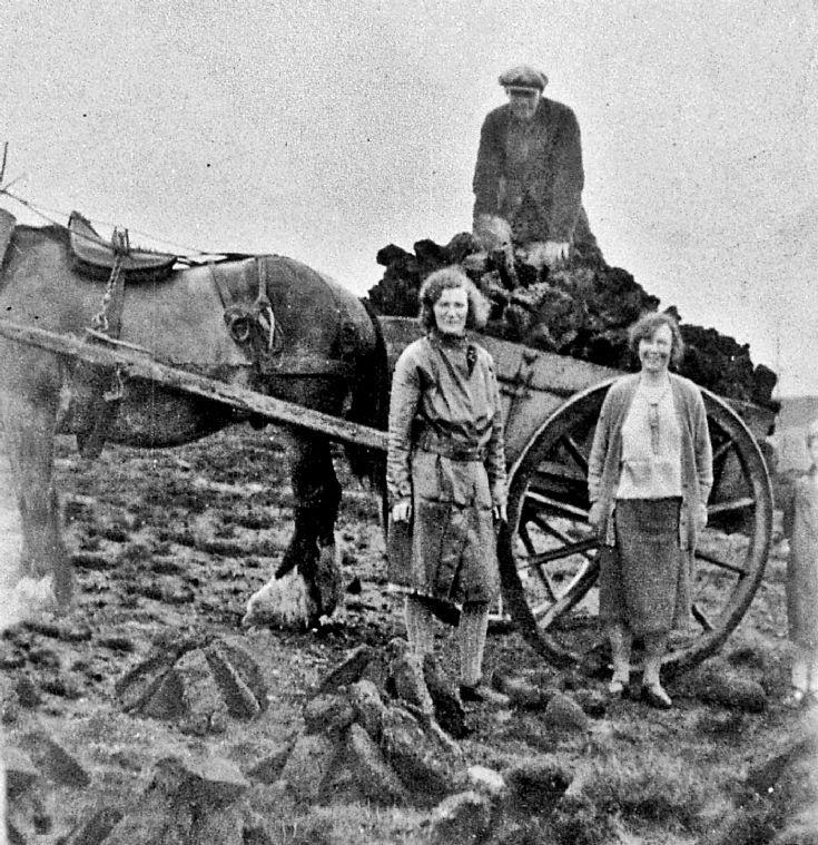 235 Leah Davidson Craighead collecting Peats