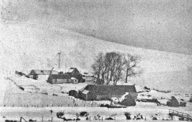 238 Netherton Farm Glenbuchat in Winter