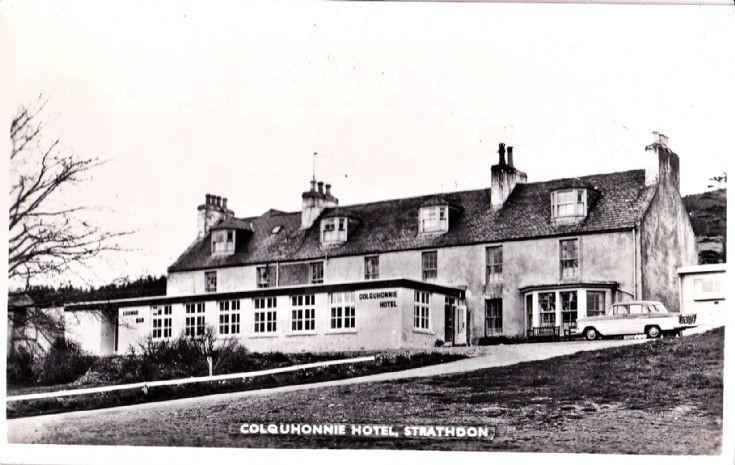 256 Colquhonnie Hotel c 1960
