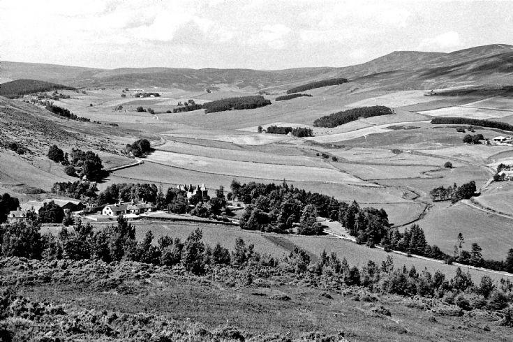 2 Glenbuchat Castle and Lower Glen