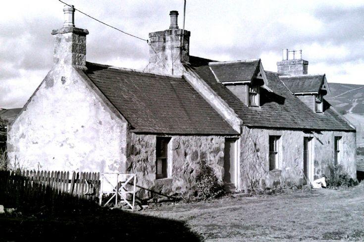 4 Kirkton Cottage Glenbuchat 1980's