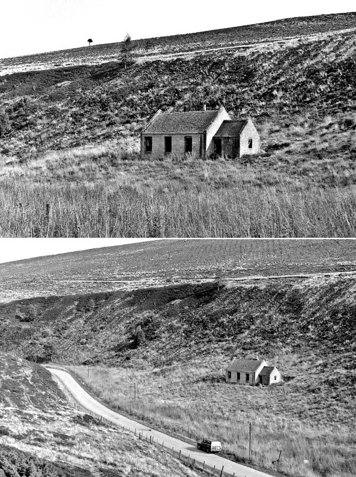 17 Balloch School Glenbuchat 1980's