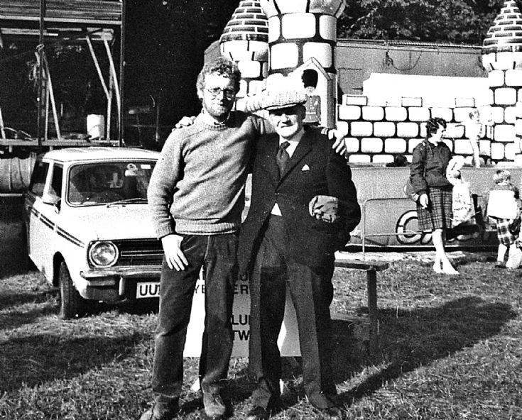 19 Ken Cruickshank and George Hay at Lonach 1980's
